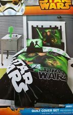 DOUBLE BED Star Wars Return of the Jedi Quilt Doona Duvet Cover Set New