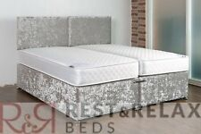 ***6ft X 6'3 Zip Link Bed with Free Headboards and Delivery*** Firm Ortho Matts