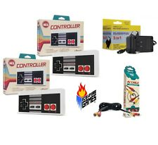 New NES Bundle: 2 Classic Controllers, AC Adapter & AV Cable