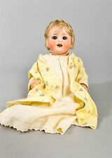"Antique 9"" Baby Girl Doll Heubach-Koppelsdorf 300-106 Bisque Composite Germany"