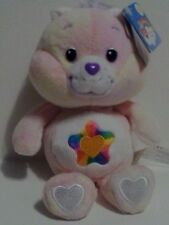"*RARE* 2003 8"" TRUE HEART CARE BEAR CARLTON PLAY ALONG 20th ANNIVERSARY NWT MINT"