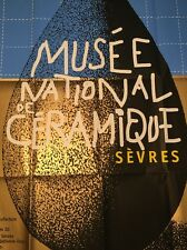 Vintage French Poster Michel Bouvet  Exposition National De Ceramique France