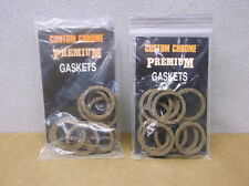 20 Harley #18257-39 Cork Pushrod Cover Gaskets for 1939-48 Harley UL - $45 NEW!!