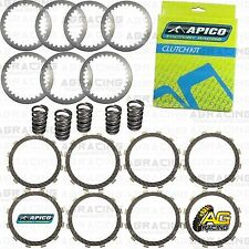 Apico Clutch Kit Steel Friction Plates & Springs For Kawasaki KX 250 1999 MotoX