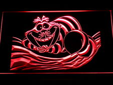 Cheshire Cat LED Neon Light Sign Man Cave G155-R