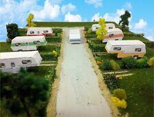 Z Scale Buildings - Mobile Home Trailer Park Camper Homes Cardstock kit set