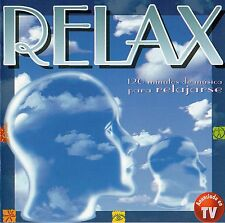 "SUZANNE CIANI / VOLLENWEIDER / DEEP FOREST / YANNI ""RELAX"" SPANISH 2CD SET"