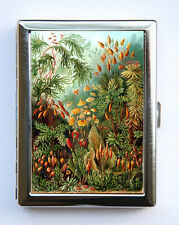 Tropical Flowers Cigarette Case Wallet Business Card Holder cute botanical