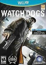 Watch Dogs (Nintendo Wii U, 2014)