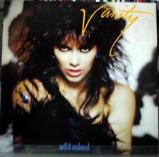 Vanity: wild  animal - LP Promo White Label