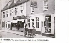 Winchcombe. K.Horlick, The Abbey Restaurant, High Street by Burrow. Rowntrees.