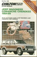JEEP WAGONEER CHEROKEE COMANCHE  4-CYL & 6-CYL 1984-89 OWNERS WORKSHOP MANUAL
