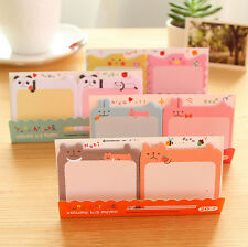 Cartoon Post-It Sticker Bookmark Point It Marker Memo Flags Sticky Cute Notes