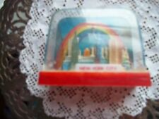 vintage New York City snow globe square shaped very old  can add water to it