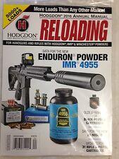 Hodgdon Annual Manual Reloading Cartridges Data For 28 Nosler 2016 -WW Ship