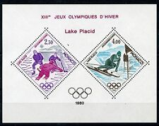 MONACO 1980 LAKE PLACID OLYMPIC  SOUVENIR SHEET YVERT#12 MINT NH