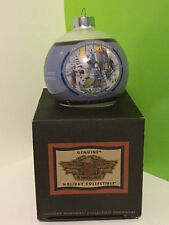 VINTAGE HARLEY DAVIDSON MOTORCYCLE CHRISTMAS ORNAMENT LIMITED AFTER PAGEANT NIB