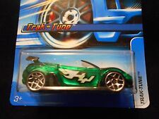 HW HOT WHEELS 2006 #143 TRAK-TUNE CONVERTIBLE HOTWHEELS GREEN DRIFT CAR VHTF