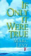 If Only It Were True by Levy, Marc