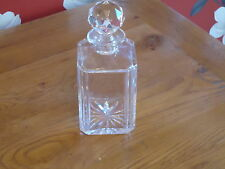 Vintage Style Heavy Cut Glass Decanter Nice Condition- bar Drinks Water Retro