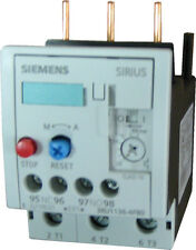 Siemens 3RU1136-1JB0 3 pole overload relay adjustable from 7 - 10 AMPS