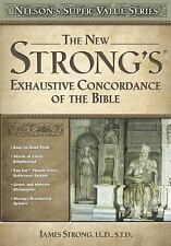 Super Value: New Strong's Exhaustive Concordance by James Strong (2003,...