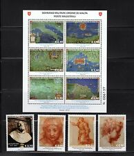 SMOM 2015 NH New Issues #1 - Maps, Artwork - Sovereign Military Order of Malta