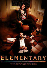 Elementary: The Second Season (DVD, 2014, 6-Disc Set)