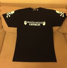 A Bathing Ape BAPE X Mastermind Japan T-shirt Black Size M