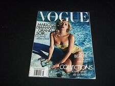 2010 JUNE-JULY VOGUE PARIS MAGAZINE IN FRENCH - KATE MOSS - MODELS - D 1383