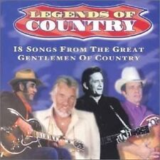Legends Of Country: The Great Gentlemen of Country 18 songs - Used very good