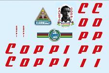 Coppi Bicycle Decals-Transfers-Stickers #6