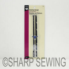 DRITZ SEWING GAUGE WITH SLIDING MARKER #620