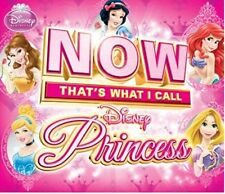 Now That's What I Call Disney Princess [Audio CD, 44 Music Songs, 2-Disc] NEW