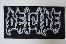 Deicide Cloth Patch (CP224) Black Death Metal Rock Immortal Venom Mayhem