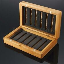 Vintage Bamboo EVA Fly Fishing Box Lure Baits Storage Case Tackle Box Tool HOT