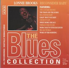 LONNIE BROOKS - Reconsider baby - CD album (10 tracks - The Blues Collection 40)