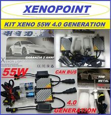 KIT XENON XENO H7 55W SLIM 4.0 GENERATION H1-H3-H11 5000K 6000K PRO CAN BUS**