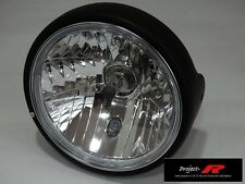 MATT BLACK crystal clear motor bike Suzuki GSX1400 GSXR1400 GSX 1400 head light