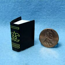 Dollhouse Miniature Bible / Hymnal with Pages ~ IM65760