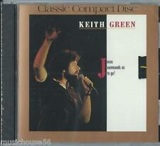 KEITH GREEN - Jesus Commands Us To Go! - Christian Music CCM Pop Worship CD