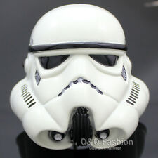 Fab Star Wars White Stormtrooper 3D Helmet Mask Metal Belt Buckle Fancy Dress
