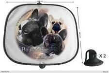 Sonnenschutz auto Französische Bulldogge