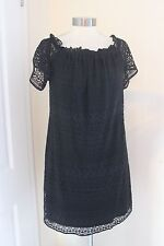 size 20 black lace dress from dorothy perkins brand new