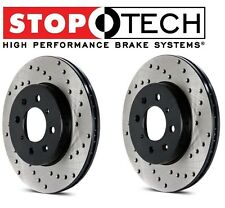 NEW Lotus Elise Exige Set of Front Left and Right StopTech Drilled Brake Rotors