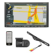 NEW Pyle PLDNVR708 Stereo Receiver Headunit Radio Rearview Backup & Dash Cam Kit