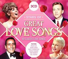 STARS OF GREAT LOVE SONGS feat. Peggy Lee, Frank Sinatra, u.a. 3 CD NEU