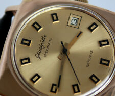 Superb Legendary GERMAN GUB GLASHUTTE Spezimatic Cal. 75 WRIST WATCH ca.1970