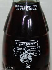 RARE 1997 Coke Coca-Cola Safe Driver Truck Roadeo Rodeo Las Vegas NV 8oz Bottle