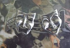 THEATER PERFORMING ARTS JEWELRY 1 MASK COMEDY & TRAGEDY PIN All New.